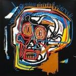 Basquiat - Skull