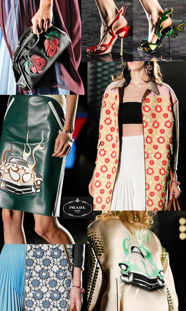 Prada pr t porter printemps t collection 2012 amylee - Robes americaines pret a porter ...