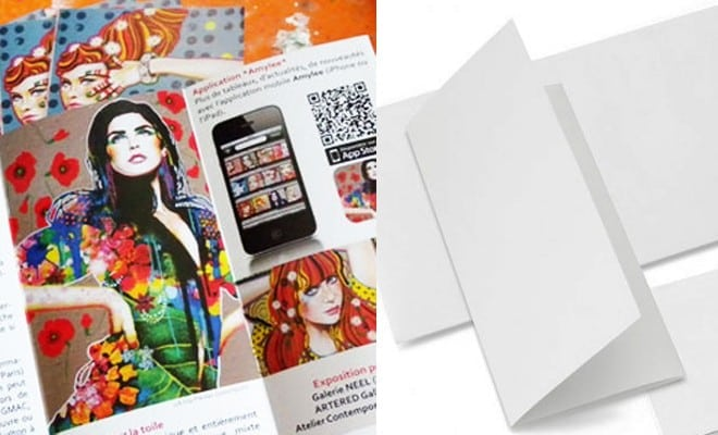 mes brochures 3 volets sont arriv u00e9es