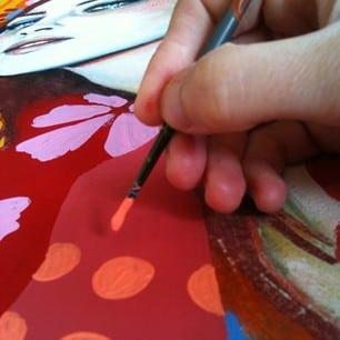 Artistes Peintres Pourquoi Lutilisation De La Peinture Acrylique
