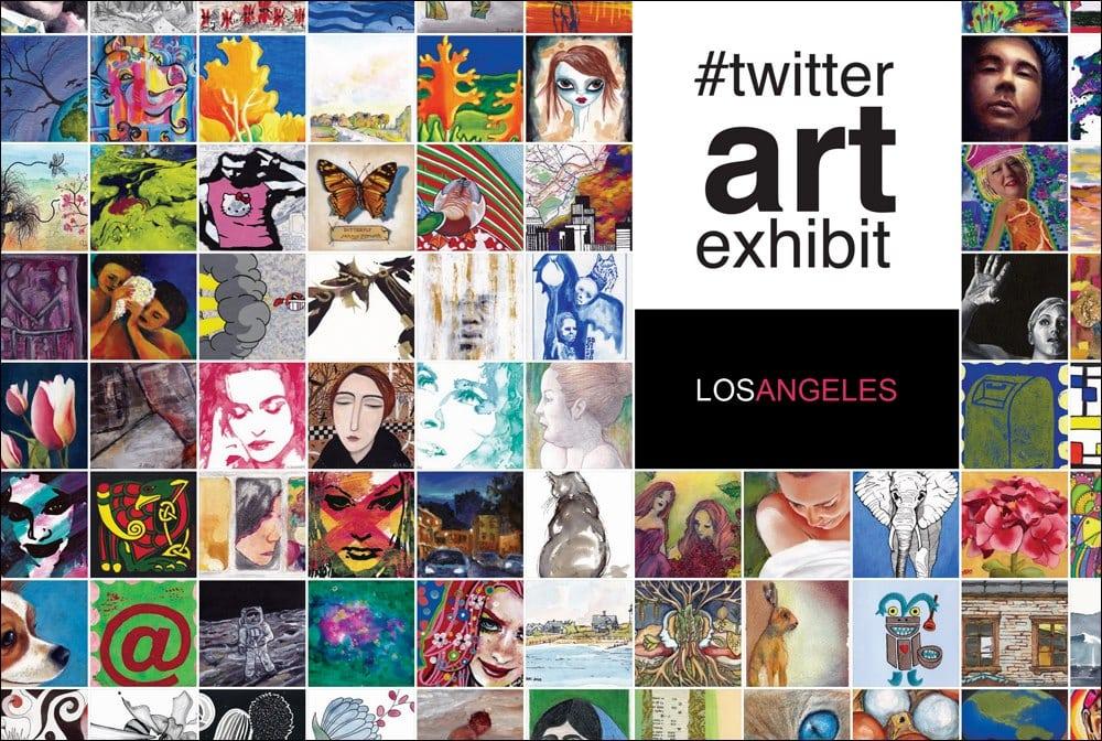 Twitter art exhibit 2013 flyer