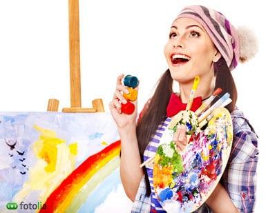 artiste-peintre-chevalet