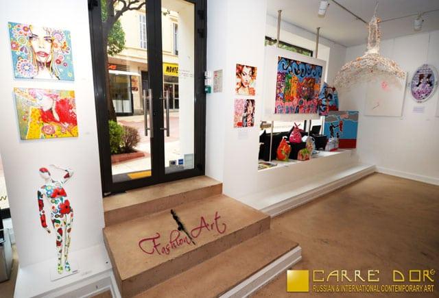 exposition fashion art carré doré galerie monaco