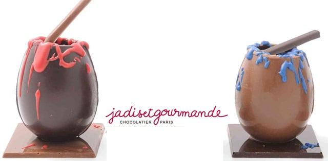 jadis-et-gourmande oeuf chocolat paques art