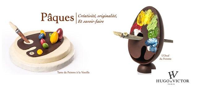 victorethugo art palette chocolat