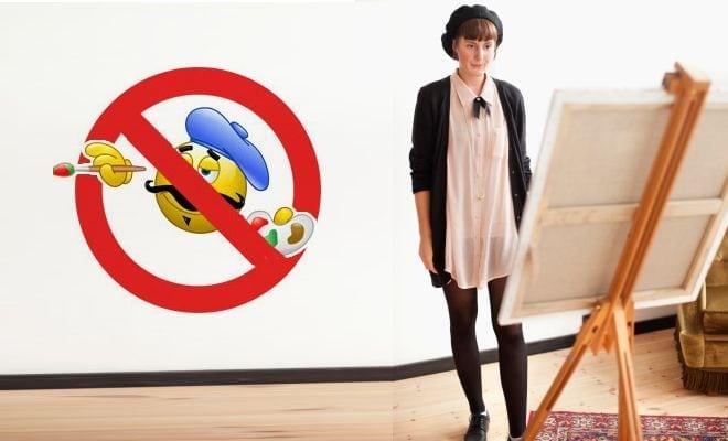 top 20   des habitudes  u00e0 perdre on est artiste peintre