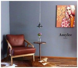 desin art, fashion tableau art contemporain