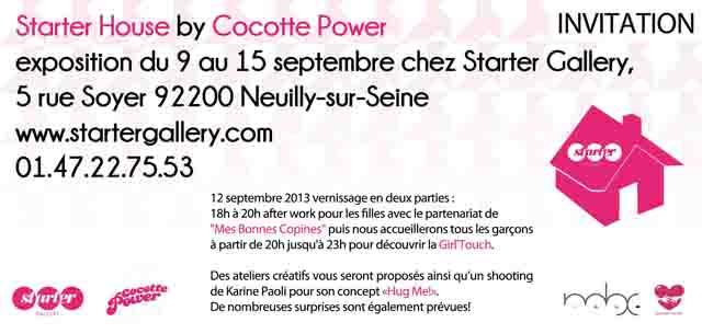 StarterHouse by CocottePower invitation