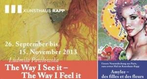 ART SHOW COVER Switzerland Kunsthaus Rapp