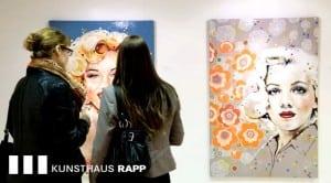 Art amylee paintings show switzerland