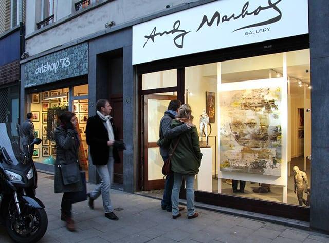 andy marhol art gallery belgium brussels