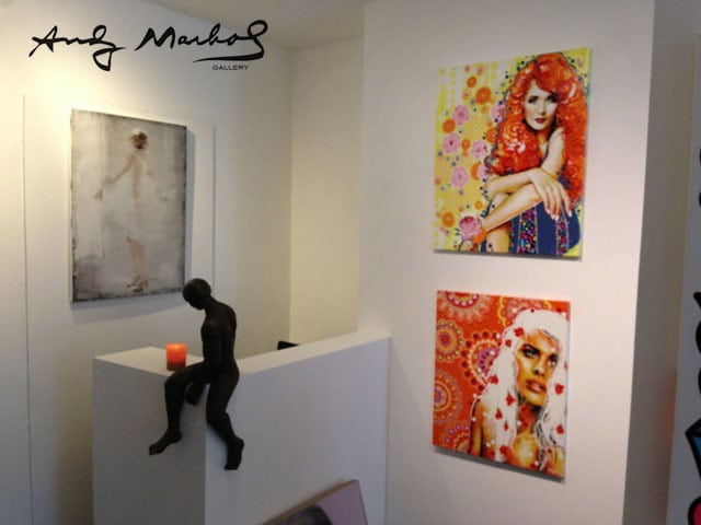 andy marhol gallery marolles bruxelles