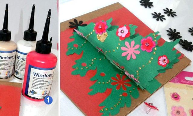 décoration sapin de noel creation papier