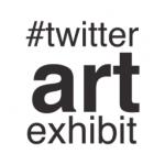 Twitter art exhibit logo