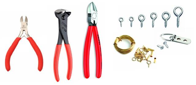 outils-pour-accrocher-tableau