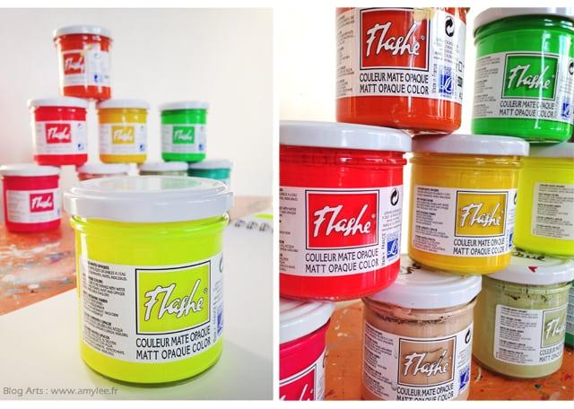 Delightful peindre a l acrylique 6 peinture flashe - Peindre a l acrylique ...