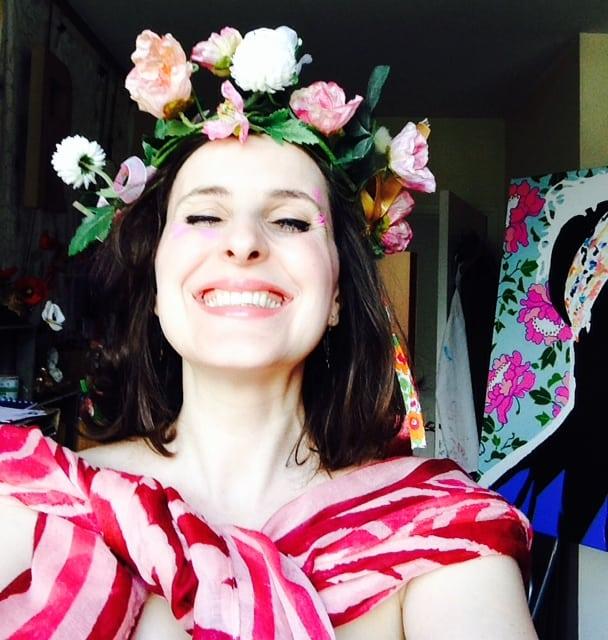 amylee peintre blogueuse art selfie