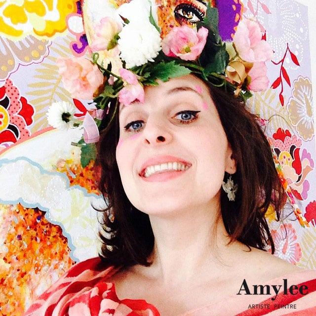 Amylee artiste peintre creation tableaux blog art