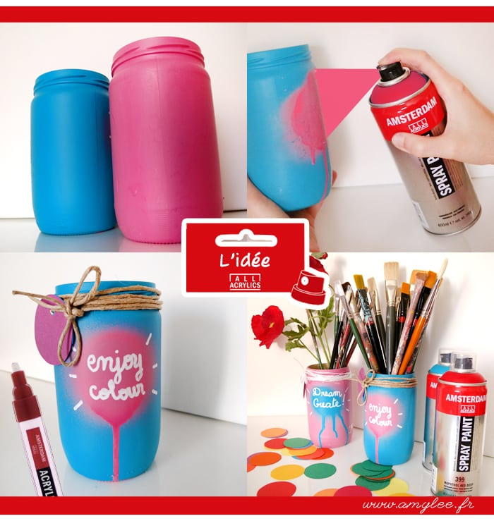idée-recyclage-pot-verre-customisation