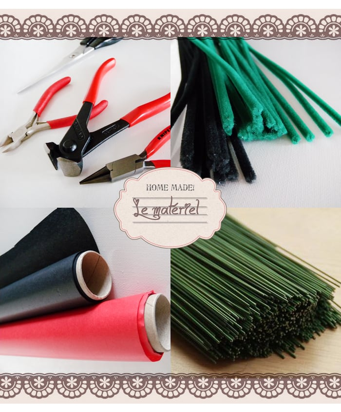 materiel-comment faire, décoration- fleurs papier, coquelicot
