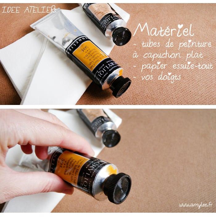 ranger tubes peinture atelier art