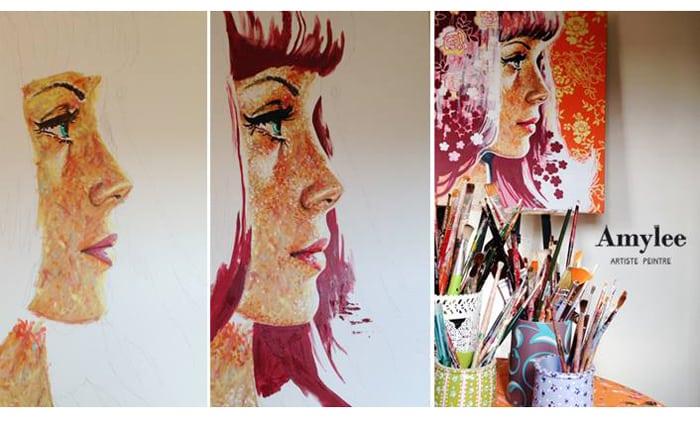 atelier artiste peinture art creation amylee
