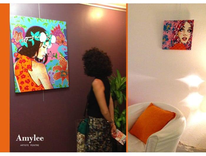 blog art peinture acrylique artiste amylee