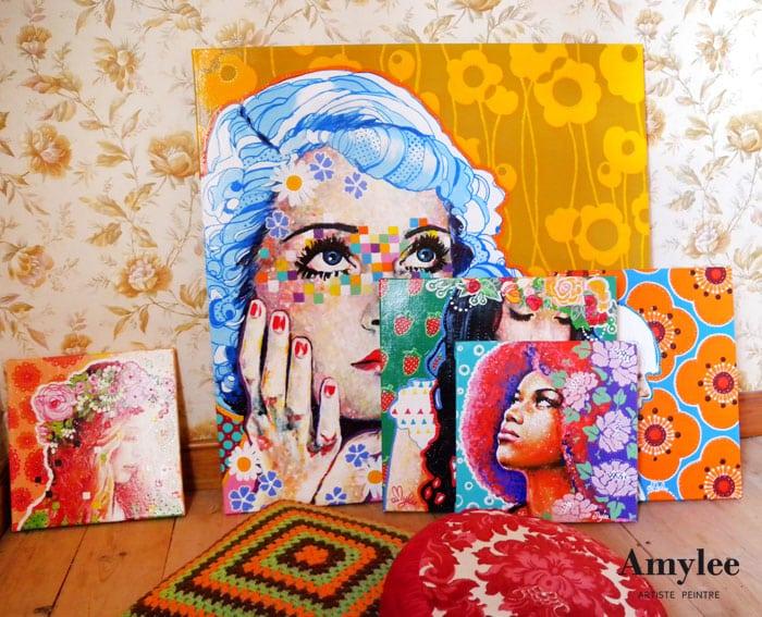 art-tableau-peinture-pop