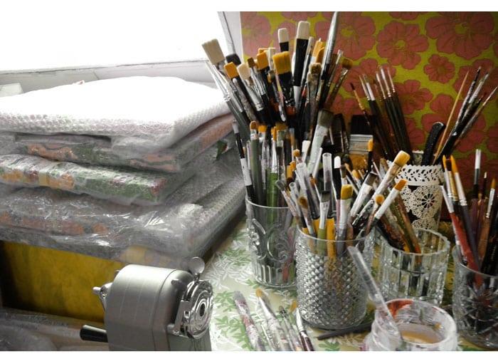 Comment rendre un atelier plus lumineux amylee - Atelier artiste peintre ...