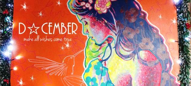 Décembre : offrez-vous un tableau plein de féerie et de couleurs