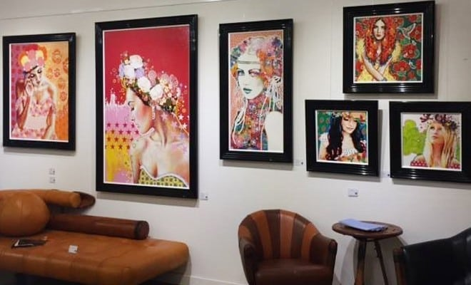 paintings amylee glasgow scotland breeze art gallery
