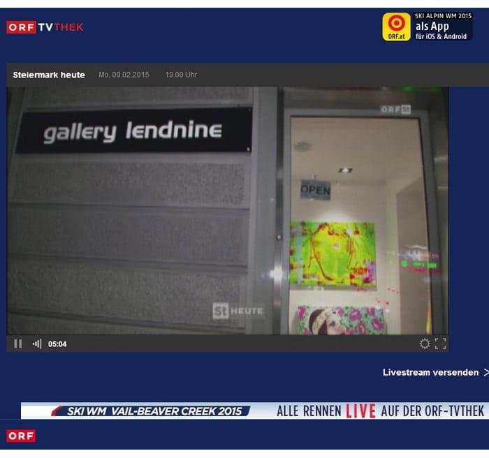 Lendnine gallery video art