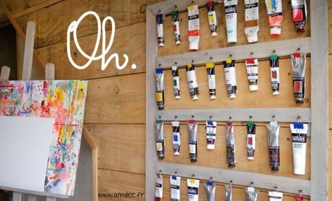 pr u00e9sentoir pour tubes de peinture