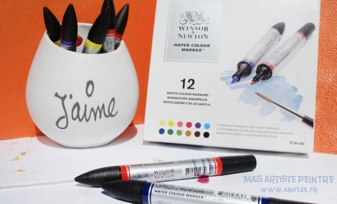 aquarelle-feutres-encre-winsor-newton