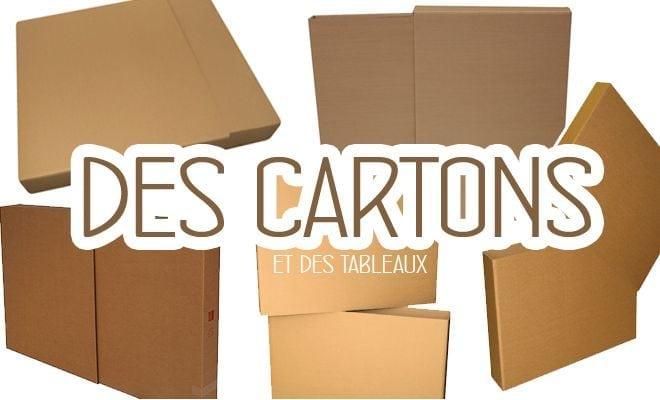 carton t u00e9lescopique pour emballer des tableaux