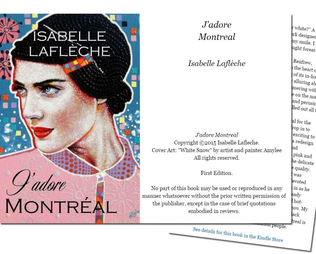 livre isabelle lafleche tableau amylee