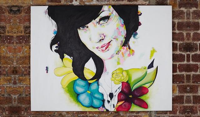 Bernice-painting-sophie-bastien-artist