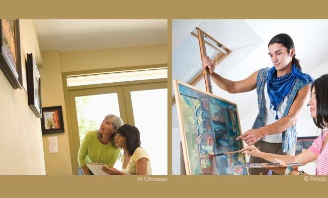 donner de bons conseils  u00e0 un artiste peintre