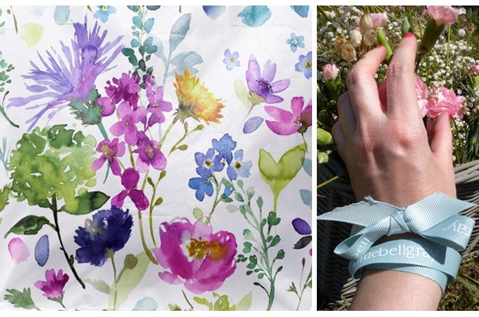 bluebellegray, bag, sac, motifs, fleurs