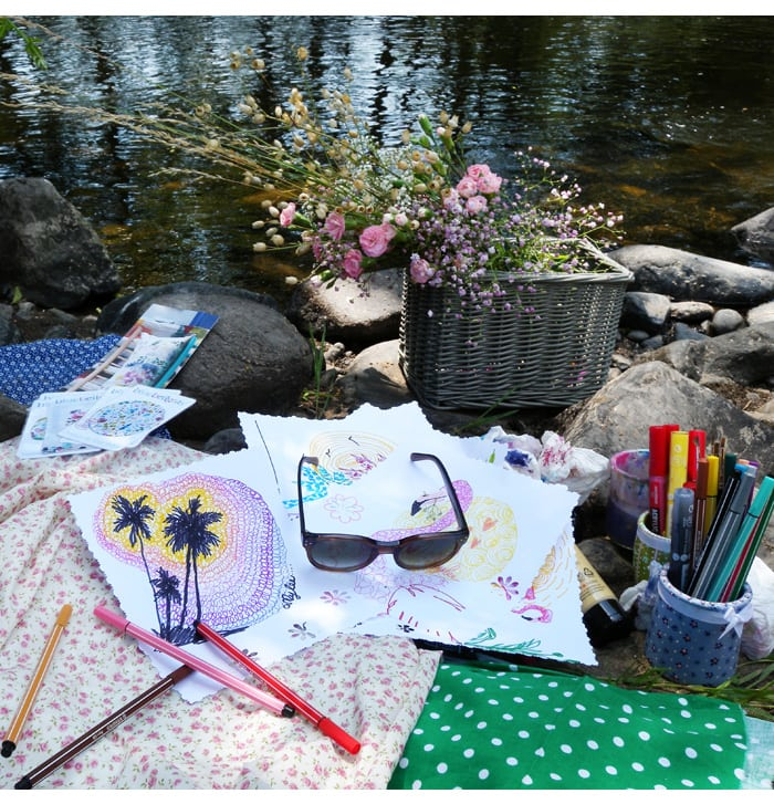 dessiner plein air artiste peintre exterieur