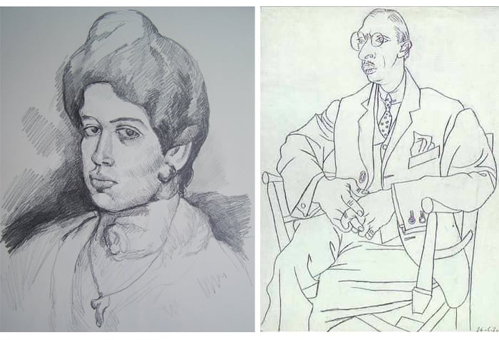 picasso-pablo-drawing-illustration