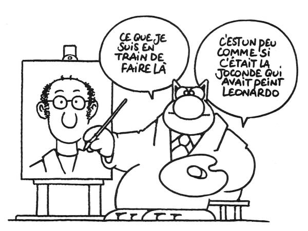 LA-CITATION-Le chat geluck artist art bande dessinée
