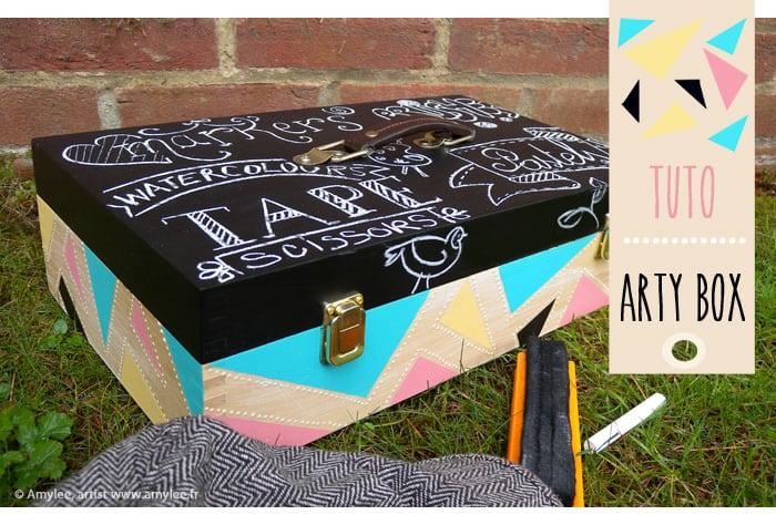 art box tutorial art blog creation