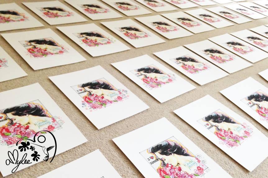 digrigraphies, artiste, peintre, papier, canson, epson