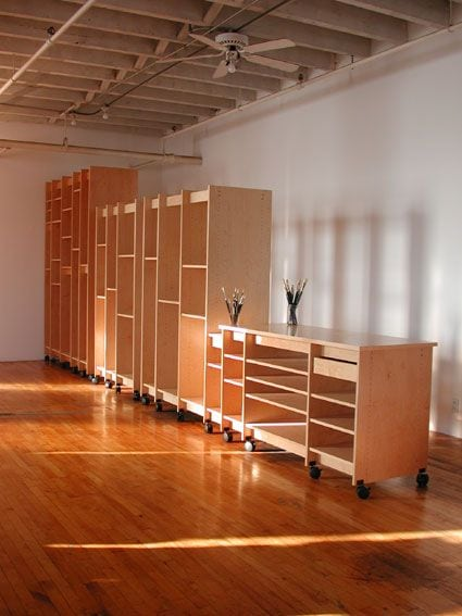 espace atelier creation rangement travail