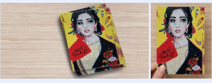 postcard-Amylee- carte-postale-artiste