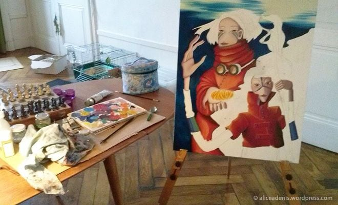 la peinture à l'huile et ses couleurs | amylee - Comment Faire Secher De La Peinture A L Huile