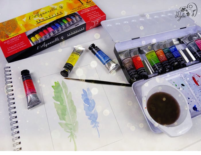 aquarelle peinture sennelier art