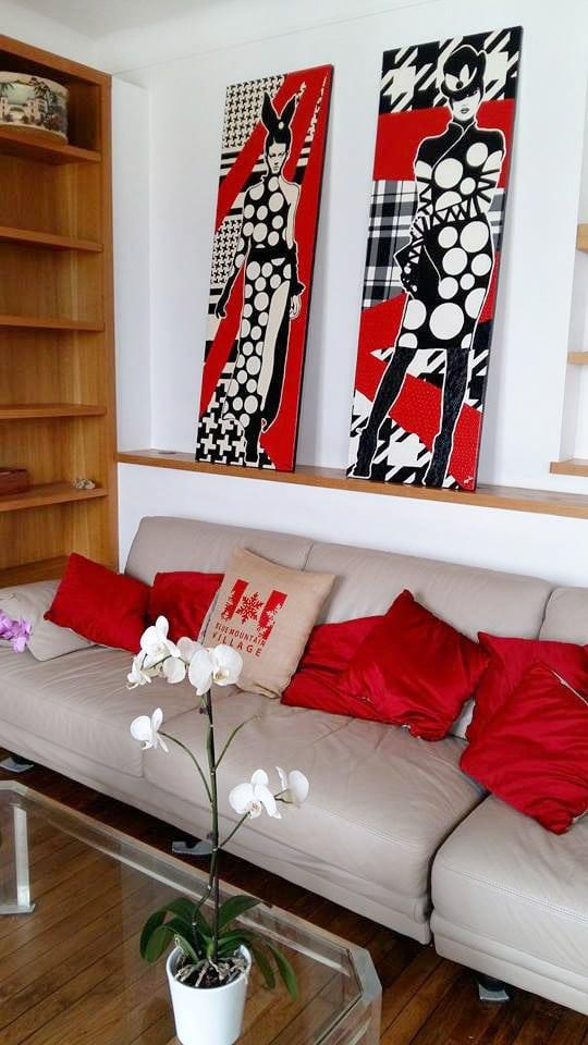 tableau amylee interior design painting art