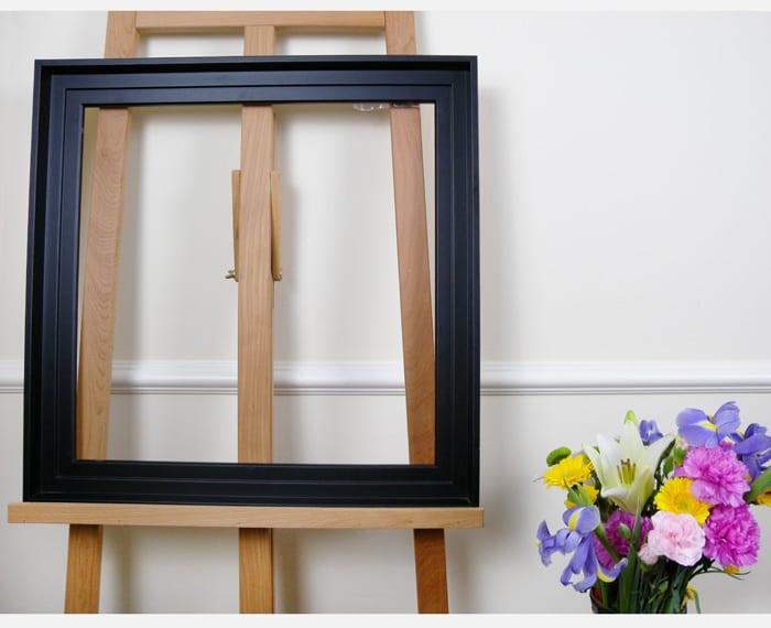 caisse am ricaine pour tableau amylee. Black Bedroom Furniture Sets. Home Design Ideas